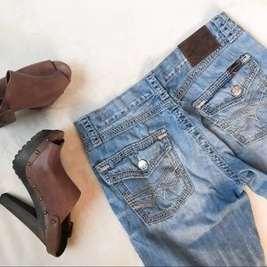 Seven7 boot cute jeans
